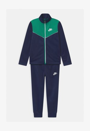 2-TONE ZIPPER SET - Tracksuit - midnight navy
