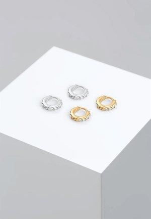 GLASS CRYSTAL - Boucles d'oreilles - silver-coloured