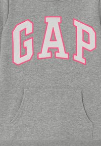 GAP - GIRL LOGO HOOD - Mikina skapucí - light heather grey - 2