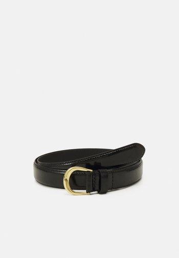 KENTON BELT SKINNY - Belt - black