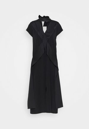 DIAMOND DRAPE DRESS - Cocktail dress / Party dress - black
