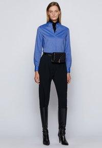BOSS - C_BEFELIZE_18 - Button-down blouse - light blue - 1