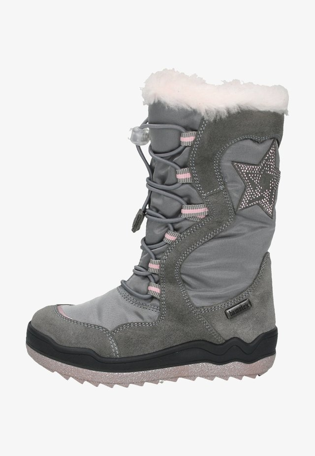 Winter boots - hellgrau 33