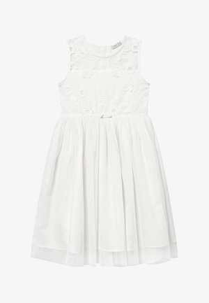 NKFSIV MIDI - Cocktailjurk - bright white