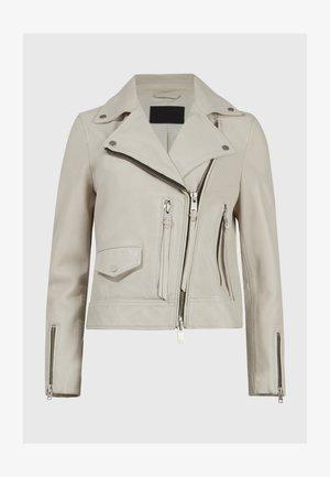 KARA  - Leather jacket - white