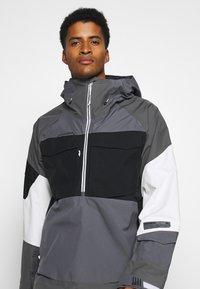 Burton - BANSHY CASTLEROCK  - Snowboard jacket - castlerock/multi - 3