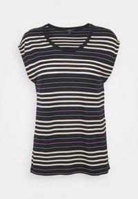 Esprit Collection - STRIPE TEE - T-shirt print - navy - 0