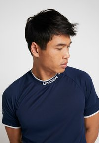 Under Armour - CHALLENGER TRAINING  - T-shirts print - dark blue - 5