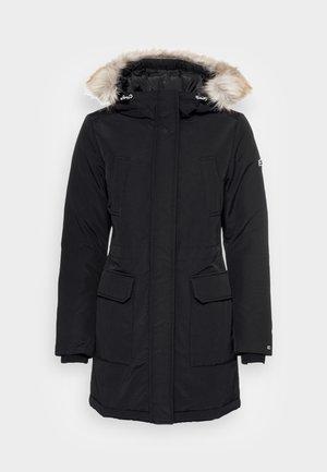 TECHNICAL PARKA - Kabát zprachového peří - black