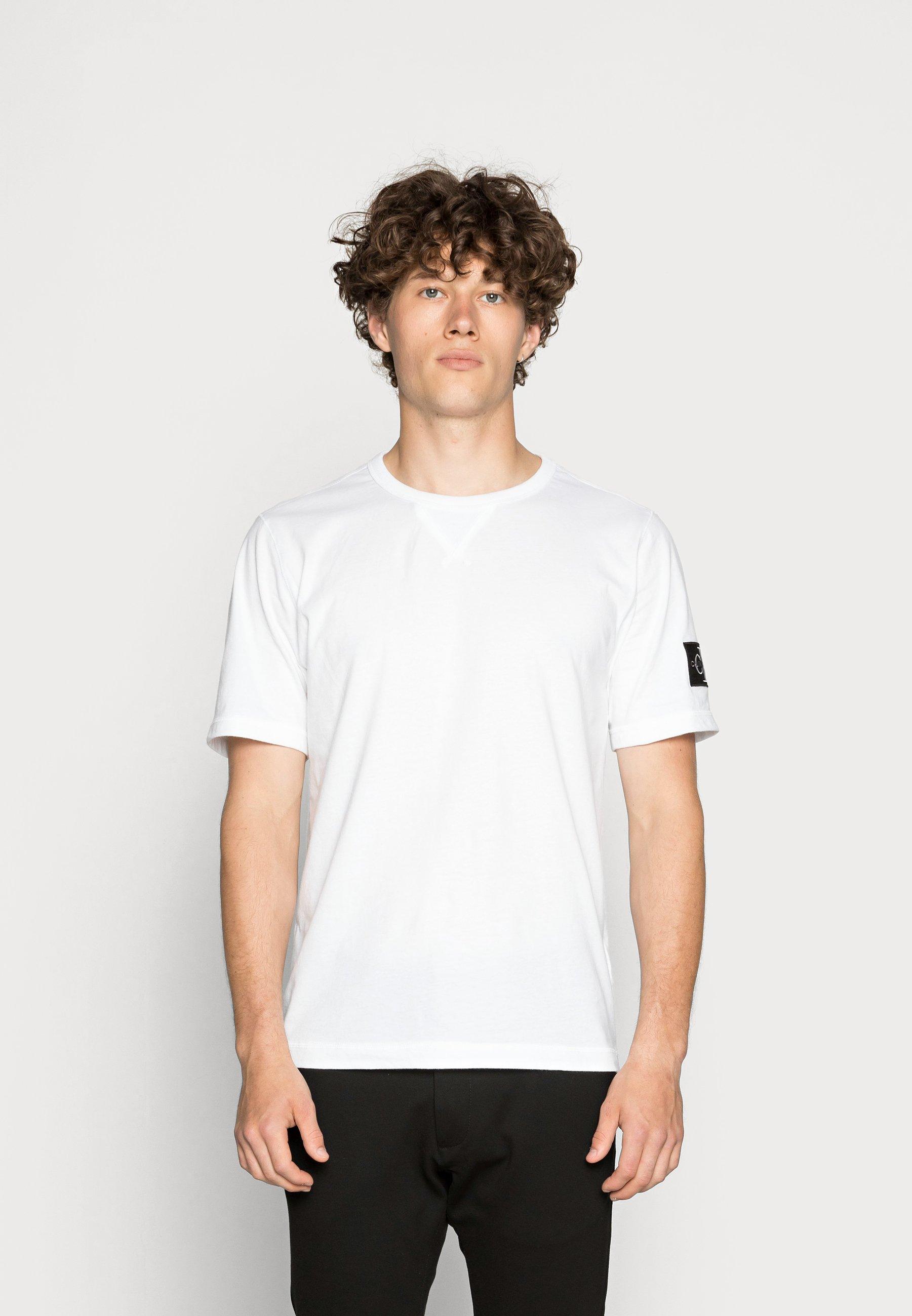 Homme MONOGRAM SLEEVE BADGE TEE - T-shirt basique