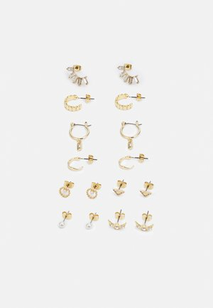 EARRING 8 PACK - Earrings - gold-coloured