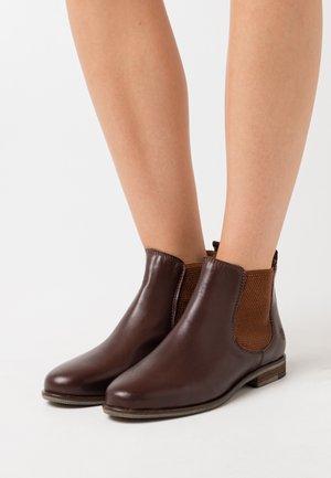 MANON - Kotníková obuv - dark brown