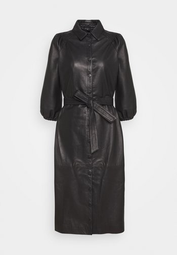 PETRAH ZIA DRESS - Košilové šaty - black