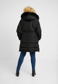 ONLY Carmakoma - CARRHODA WINTER COAT - Winter coat - black - 2