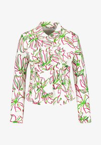 Gerry Weber - Denim jacket - weiß azalea palm druck - 2