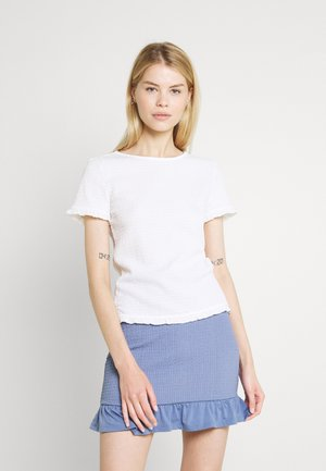 VIHAGEN O NECK - Basic T-shirt - white