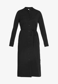 Calvin Klein - BELTED MIDI DRESS - Shirt dress - black - 5