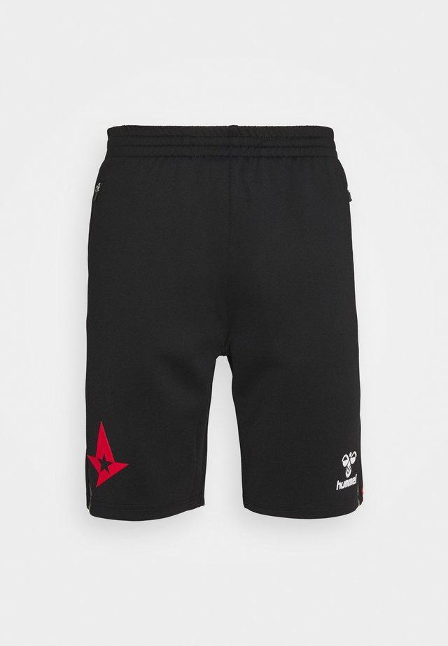 ASTRALIS CIMA SHORTS - Pantaloncini sportivi - black