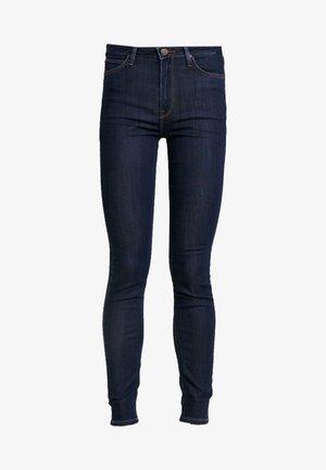 SCARLETT HIGH - Jeans Skinny Fit - tonal stonewash