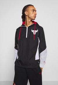 New Era - NBA PANEL WINDBREAKER CHICAGO BULLS - Windbreaker - black - 0