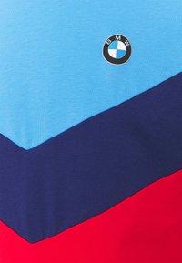 Puma - BMW TEE - Print T-shirt - marina/blue/high risk red - 2