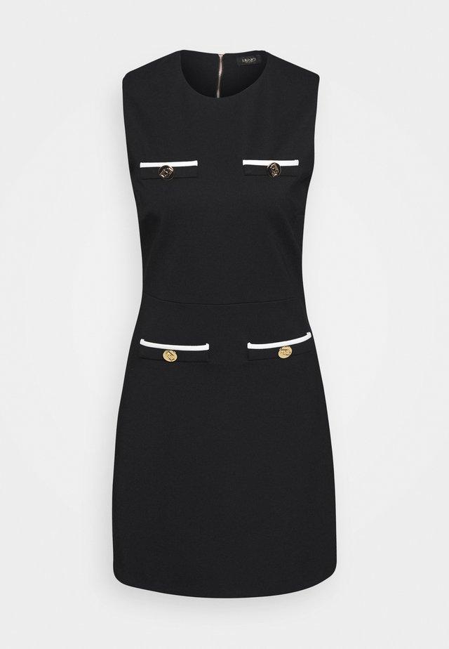 ABITO - Pouzdrové šaty - nero/star white