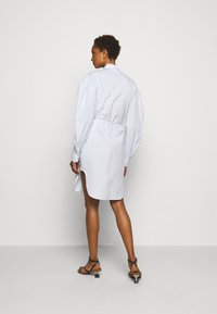 DESIGNERS REMIX - UMBRIA DRESS - Shirt dress - cream/blue - 2
