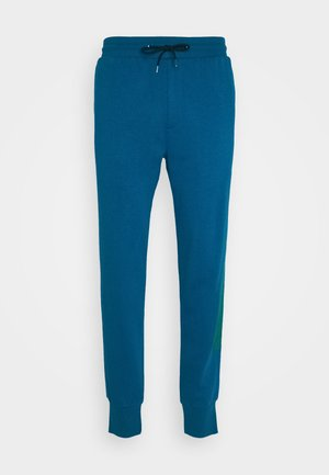GENTS PRINTED SIDE STRIPE JOGGER - Træningsbukser - green