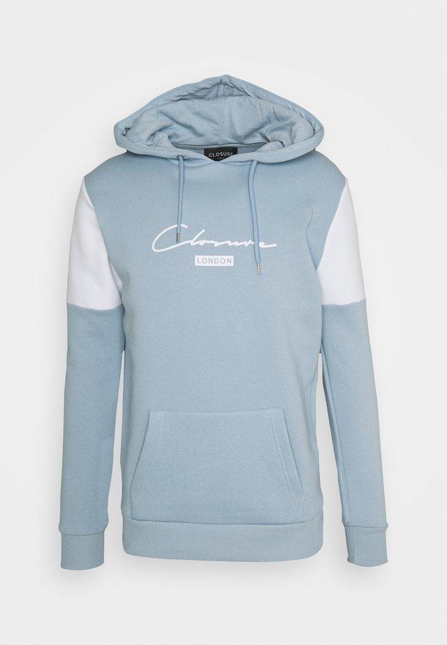 CUT & SEWHOODY - Hoodie - blue