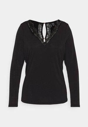 VMSMILLA BLOUSE - T-shirt à manches longues - black