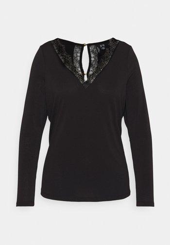 VMSMILLA BLOUSE - Long sleeved top - black