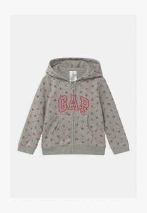 ARCH HOOD - Hoodie met rits - light heather grey