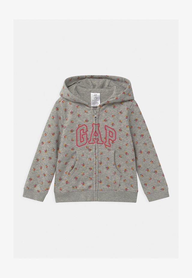 ARCH HOOD - veste en sweat zippée - light heather grey