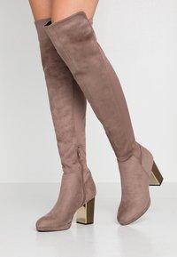 Anna Field - High heeled boots - sand - 0