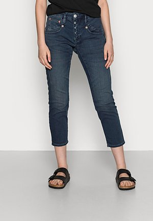 SHYRA CROPPED - Slim fit jeans - admiral