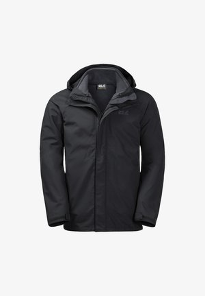 Hardshell jacket - black