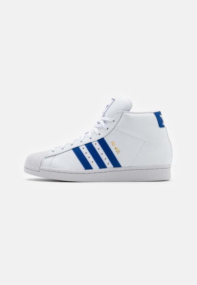 PRO MODEL UNISEX - Sneakers alte - footwear white/royal blue/crystal white