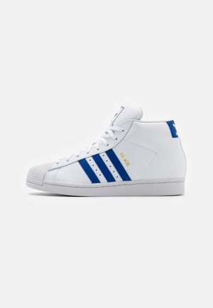 PRO MODEL UNISEX - Korkeavartiset tennarit - footwear white/royal blue/crystal white