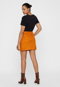 Vero Moda - A-line skirt - honey ginger - 2