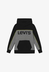 Levi's® - PIPED HOODIE - Jersey con capucha - black - 2