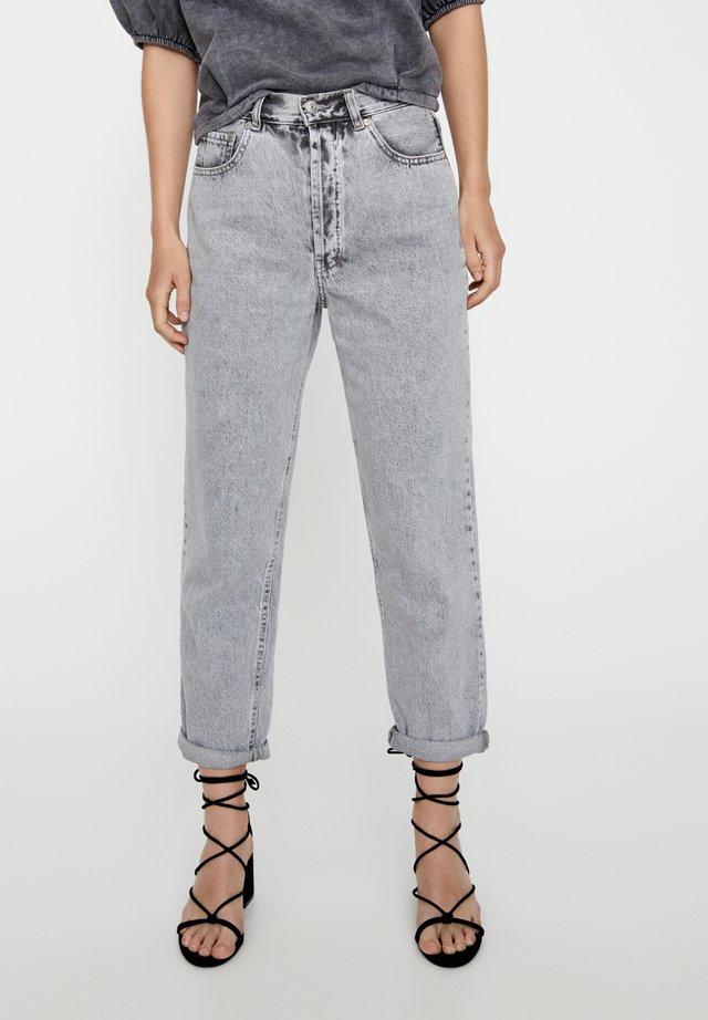 Jean droit - light grey