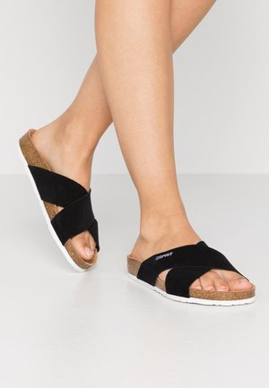 MOLLY  - Pantolette flach - black
