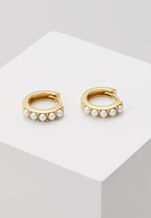 HUGGIE HOOP - Earrings - gold-coloured