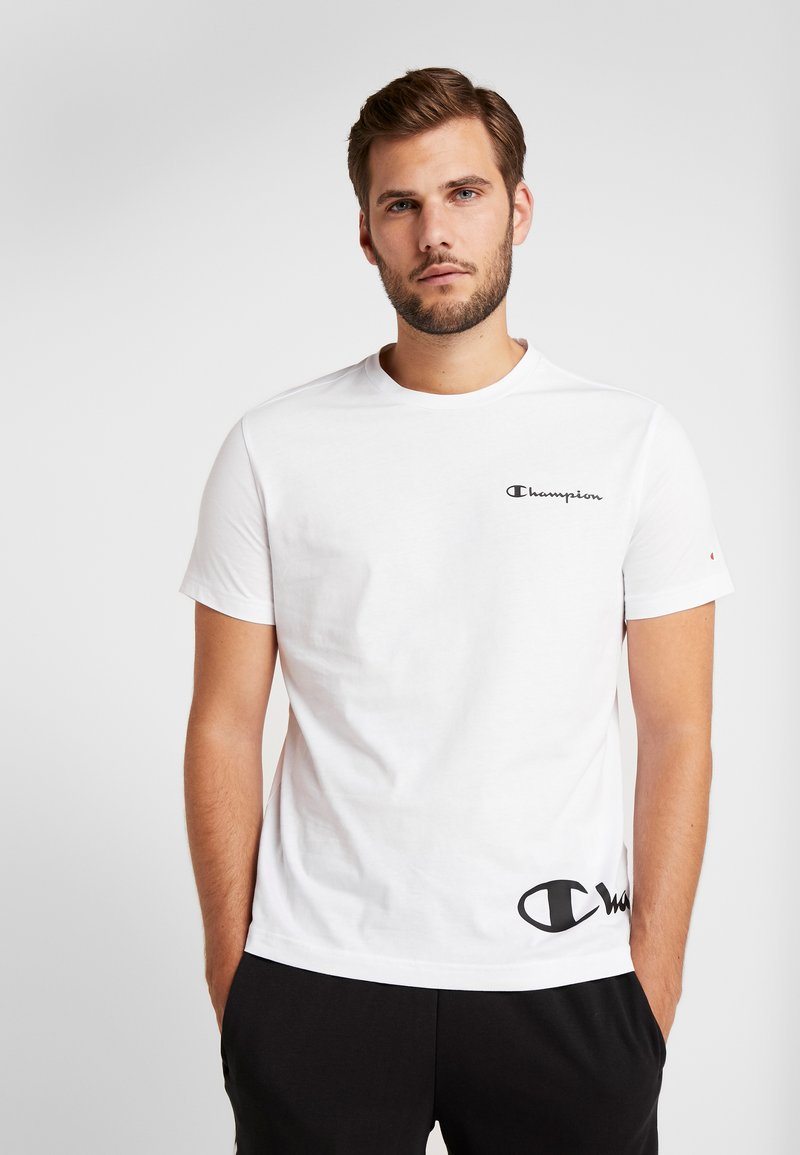 Champion - CREWNECK  - T-shirts print - white