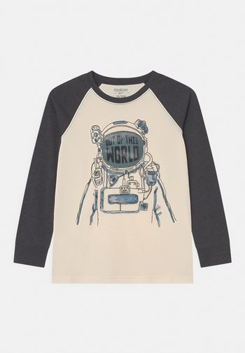 MIDTIER GRAPHIC TEE - Maglietta a manica lunga - off-white/dark grey