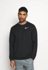 Nike Performance - DRY CREW - Bluza - black - 0