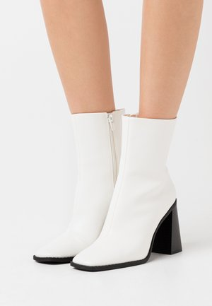 VEGAN ROBBIE BOOT - Korolliset nilkkurit - white light