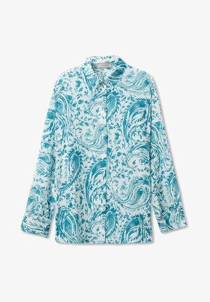 Button-down blouse - paisley laguna