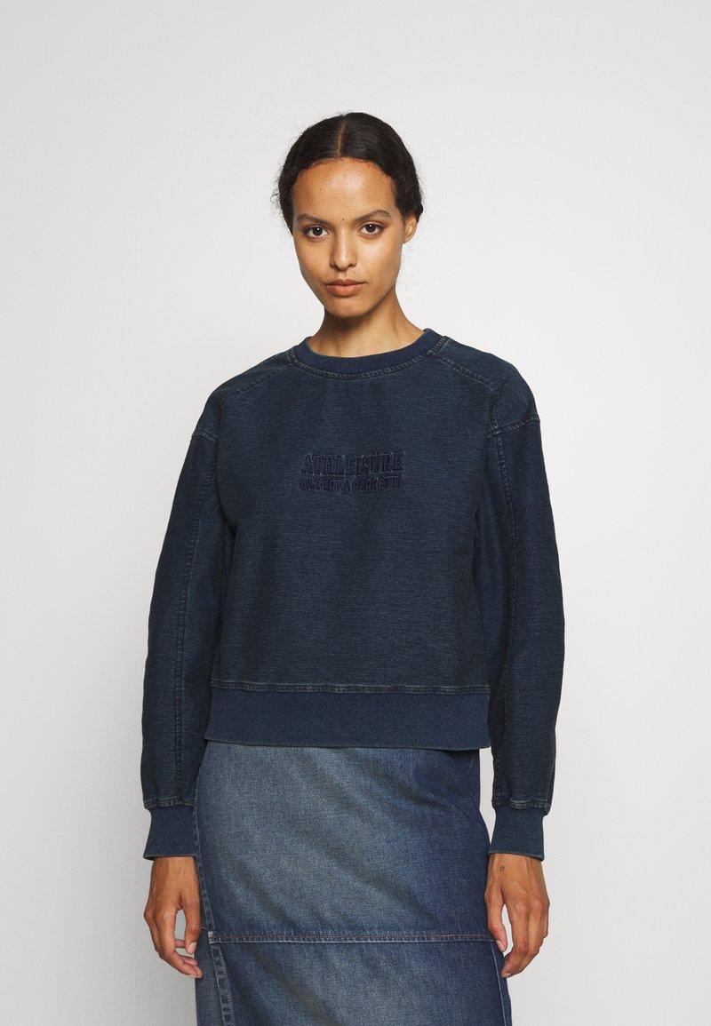 Alberta Ferretti - Sweatshirt - blue