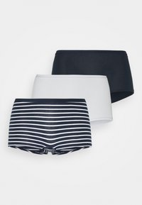 Lindex - CARIN BOXER HIGH 3 PACK - Culotte - navy - 6